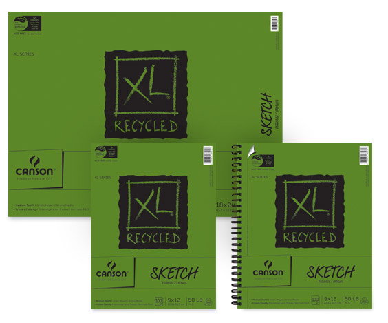 Canson XL Student Drawing Paper Pads