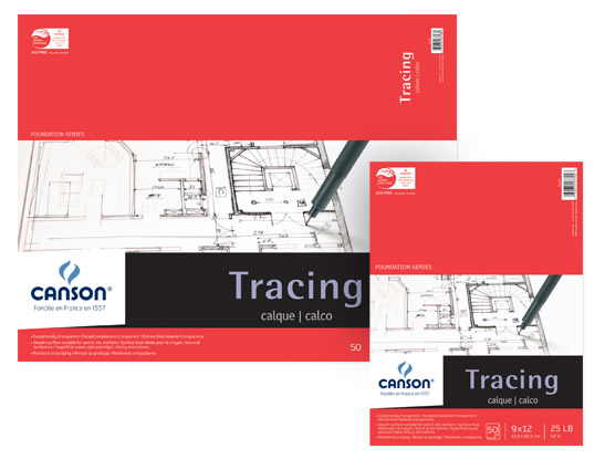 Canson Foundation Tracing Paper Pads