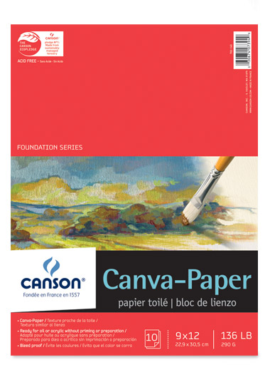 Canson Foundation Canva-Paper Pads