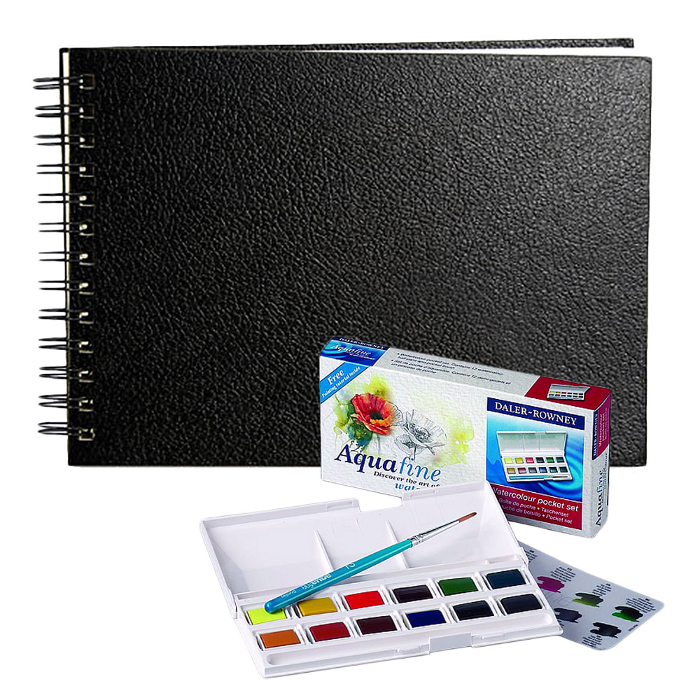 Cachet Watercolor Sketchbooks and Sets