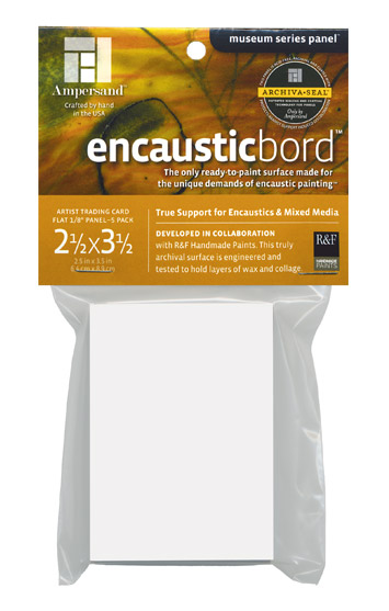 Ampersand Encausticbord Artist Trading Cards