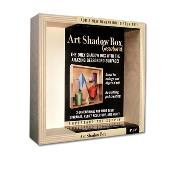 Ampersand Gessobord Art Shadow Boxes