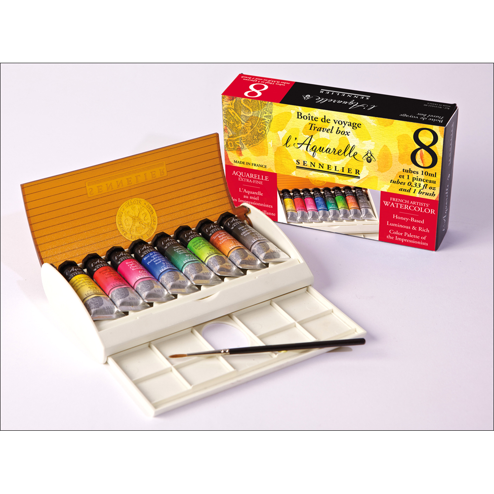 Sennelier l'Aquarelle French Artists' Watercolor Sets