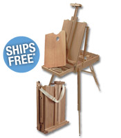 Purchase (1) Monet French Easel (item# 57067) a special price of $59.99 & receive FREE* Shipping on your order. Hurry! This offer ends July 31st, 2014. Must Use Coupon Code: MONETFS