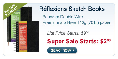 Refelxions Sketch Books