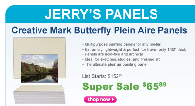 Creative Mark Butterfly Plein Air Panels