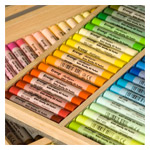 Erengi ArtAspirer Oil Pastels Wood Box Set of 92