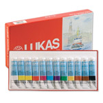 LUKAS Aquarell Studio Watercolors Set of 12 Colors