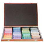 Mungyo Gallery Soft Oil Pastels Wood Box Set of 72