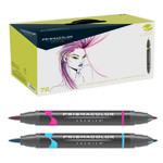 Prismacolor Brush-Tip Art Markers Set of 72