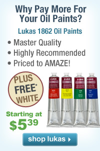 Discover Lukas - Legendary Quality Oil Paints, Watercolors and Acrylics