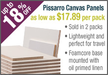 Creative Mark Pissarro Oil Primed Linen Plein Air Painting Panels
