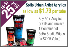 SoHo Urban Artist Acrylic Paints