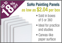 SoHo Urban Artist Painting Panels
