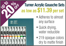 Turner Acryl Gouache Sets