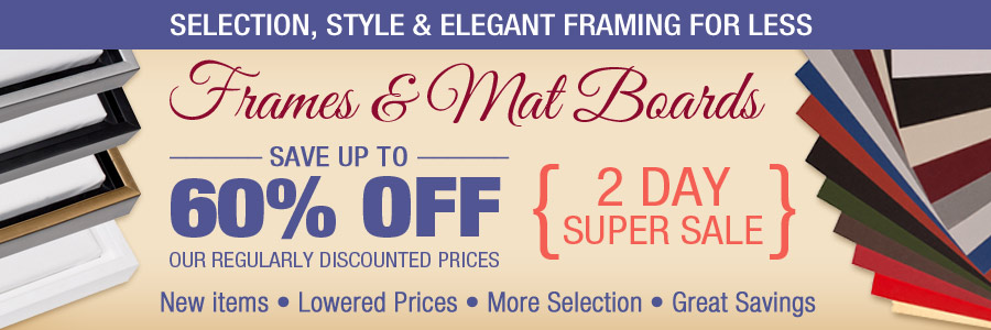 Frame Super Sale: 48 hours only!