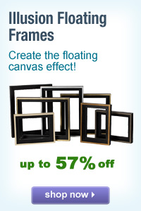 Illusion Floating Frames