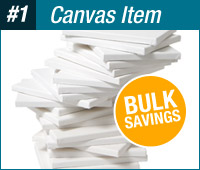 "Paramount 3/4"" Deep Stretched Canvas Bulk Pack - 16x20"""