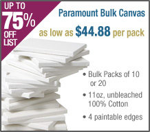 "Paramount 3/4"" Bulk Packs!"