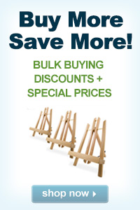 BUY MORE SAVE MORE - Buy Display Easels in Bulk!