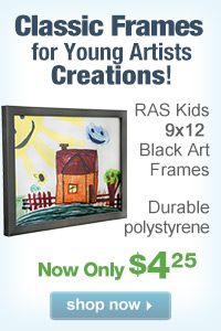 RAS Kids 9x12 Art Frames