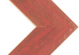 "Alabama Red – Narrow, 1.5"" Face Corner Frame"