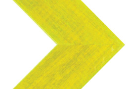 "Southern Yellow – Narrow, 1.5"" Face Corner Frame"