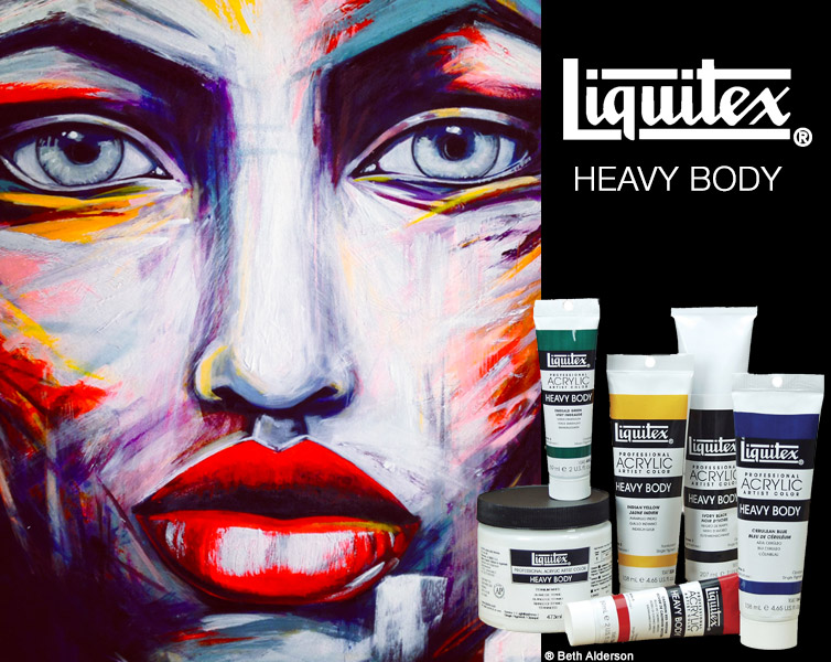 Liquitex Heavy Body Acrylics