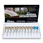 Matisse Structure Acrylics Australian Colors Set