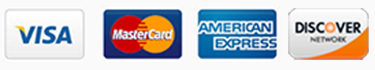 credit card logos. Forms of payment accepted at Jerrysartarama.com