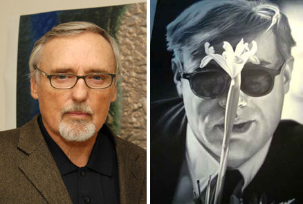 Late actor and director Dennis Hopper was also an incredibly gifted painter.