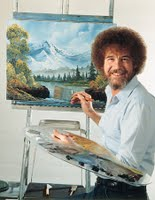 Bob Ross Self Portrait Master Artist