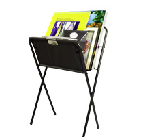 Folding Canvas Print Rack