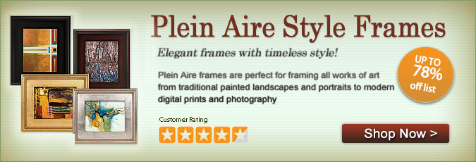 Plein Aire Frames - Ready made Frames for art, photographs, prints and more