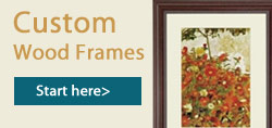 Create a Custom Wood Frame