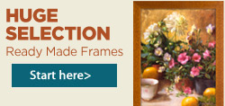Ready Made Wood Frames for Art
