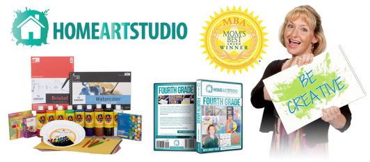 Home School Art Studio Program DVD Collection