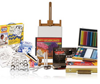 kids art starter sets and kits
