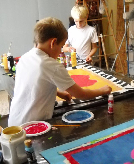 kids art zone