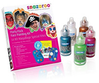 snazaroo face and body paints for kids