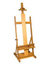 Carolina Studio H Frame Easel for the professional artist
