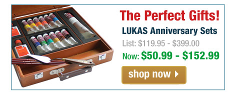 Lukas Anniversary Painting Sets