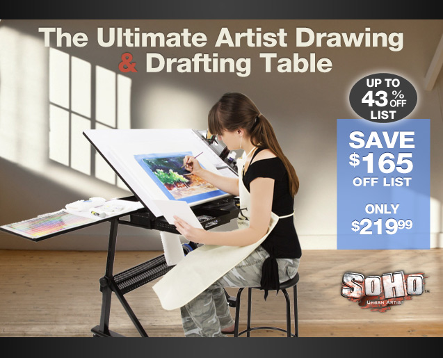 & Drawing and Drafting Table and Chair Set by Soho - Jerryu0027s Artarama