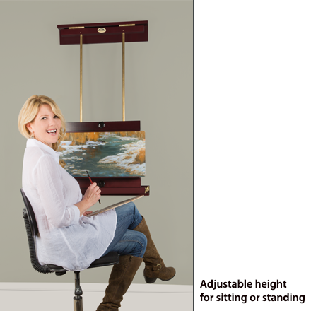 Adjustable Wall Easels for painting, display and photo