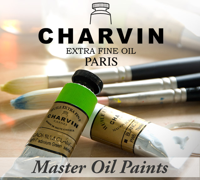 Charvin Extra Fine Oils - Master Oil Paints