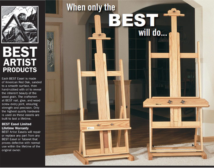 Richeson Best Easels. Save on Richeson easels at JerrysArtarama.com and Learn about the best brand of easel to buy