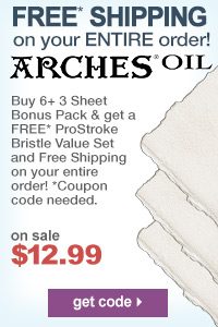 Arches Oil Paper Special | Free Shipping  | shop now