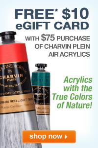 Charvin Plein Air Acrylics with Free $10 eGift Card | shop now