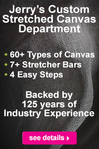Jerry's Custom Stretched Canvas Department | see details