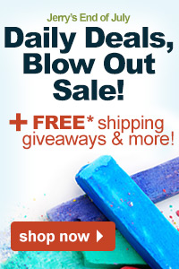 Jerry's end of July Daily Deals, Blow Out Sale | shop now